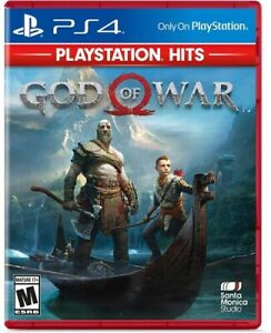 PS4 Game GOD OF WAR 2018 PLAYSTATION HITS