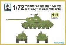 S-Model 1/72 IS-2 Model 1944 ChKZ (2 kits per box)