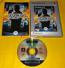 JAMES BOND 007 IN AGENT UNDER FIRE Ps2 Versione Italiana Platiunum ○○○○ COMPLETO