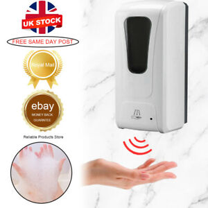 450ML Wall Soap Dispenser Mounted Hands Sanitizer Automatic Sensor Touchless New