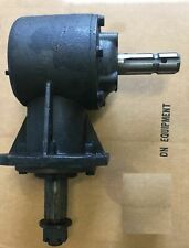 "Gear Box for Rotary Cutter 45 hp Gear Box 1 3/8"" X 6 Spline Input Shaft - New"