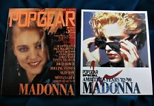 MADONNA MAGAZINE POP GEAR JAPAN 1990 w/ Promo 16-page Booklet devoted to M.