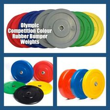 25KG  Olympic Competition Colour Rubber Bumper Weightlifting Plate only $4.95/kg