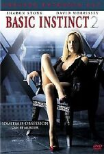 BASIC INSTINCT 2: RISK ADDICTION DVD MOVIE *NEW* AUS EXPRESS
