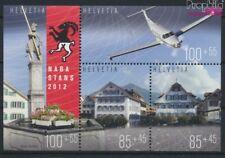 Suisse Bloc 49 (complète edition) neuf avec gomme originale 2012 Exp (9172952