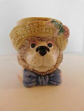 Fitz And Floyd 'Hat Party' Bear Mug 1991