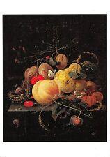 B63804 art reproduction De Heem Jan Davidsz  painting postcard