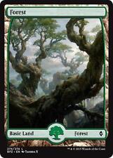 2x 2 x Forest 274 - Full Art BASIC Land - Battle For Zendikar - MTG Magic - MINT