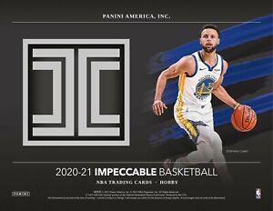 ATLANTA HAWKS 2020-21 Impeccable Basketball 3-Box Hobby Case #2 Break