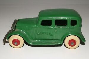 1930's Arcade Cast Iron Plymouth Sedan