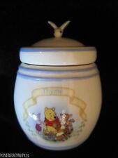 2000 Lenox~Disney Pooh Pantry Spice Jar~Thyme~Hunny Pot~Bee~New