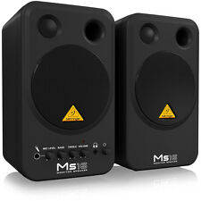 BEHRINGER MS16 Active 16W Personal Monitor Speaker System PAIR + Full Warranty