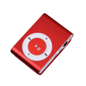MP3 Player Mini Clip USB Music Media Player Support 1-8GB Support SD TF Portable