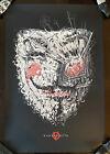 V for Vendetta Movie Poster Mondo Guy Fawkes Night Day Art Print Cesar Moreno