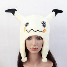 Pokemon Plush Mimikyu Hat Soft Warm Cap Hat Cosplay
