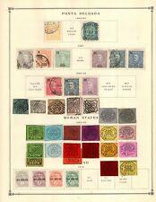 Ponta Delgado Roman States Ruanda Collection from Excellent Scott Intern Album