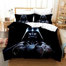 Us Star Wars Darth Vader 3Pcs Bedding Set Duvet Cover Pillowcase Comforter Cover