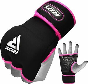 RDX Ladies Boxing Inner weightlifting Gym Gloves Hand Wraps MMA Women Pink
