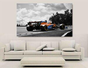 Canvas Wall Art - F1 2020 - McLaren