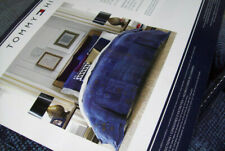 Tommy Hilfiger Navy Blue Brown Madrona Patchwork King Comforter Two King Shams