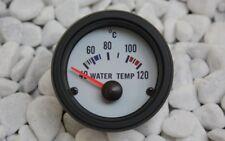 Wassertemperaturanzeige Indicatore Strumenti acqua temperatura manometro bianco+