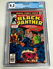 Black Panther #1  Marvel Comic Book, 1977, Jack Kirby Solo Series CGC 9.2
