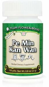 Plum Flower, Pe Min Kan Wan, 100 ct
