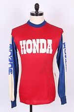 VTG 80S HONDA MOTOCROSS MOTORCYCLE JERSEY MENS SIZE MEDIUM