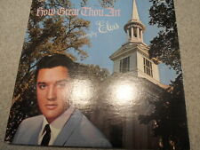 ELVIS PRESLEY    HOW GREAT THOU ART     LP    466