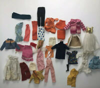 Vintage Barbie & Friends Doll Clothes Lot Of Handmade & Clone Need TLC