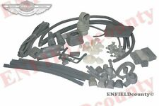 NEW GREY COLOUR COMPLETE BODY RUBBER KIT ASSEMBLY LAMBRETTA GP  SCOOTs @ECspares