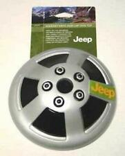 VOTOYS XPET 7 INCH VINYL JEEP HUBCAP DOG TOY BUILT IN SQUEAKER. FREE SHIP IN USA