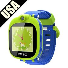 Orbo Kids Bluetooth Phone Pairing Smartwatch with Rotating Camera, Blue NEW!