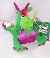 "Stuffed Plush DRAGON Lucky PEARL Museum FINE ARTS Boston ""LAND of 1000 DRAGONS"""