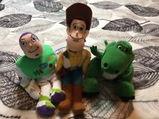 Disney Bean Bag Plush Toy Story With Tags - Woody/Buzz Lightyear/Rex