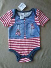 Tiny Little Wonders baby boy size OO bodysuit 'rockstar' NWT