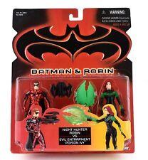 Batman & Robin Night Hunter Robin VS Evil Entrapment Poison Ivy action Figures