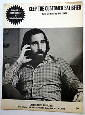 Paul Simon Sheet Music Keep The Customer Satisfied Charing Publ. 70's Pop Rock
