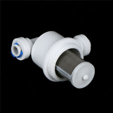 1pc 1/4 Micro filter Water Purifier Stainless Steel Mesh Garden Connectors M&C