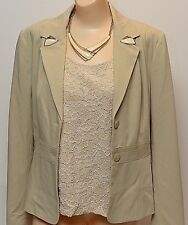 Liz Claiborne Sz 8 Blazer Chicos Sz 3 Cami White Necklace Clothes Jewelry Lot