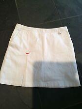 Ladies Ellesse pleated Tennis Skirt - White Size 8