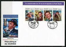 GUINEA  2018  20th MEMORIAL OF  FRANK SINATRA SHEET FIRST DAY COVER