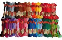 100 Colors Hand Embroidery Floss Cross Stitch Threads skeins Full range of Floss