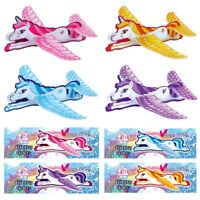 Girls Flying Unicorn Gliders Christmas Eve Box Stocking Party Bag Fillers
