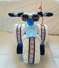 Tricycle Baby shower diaper cakes