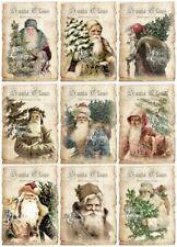 Decoupage-Bastelpapier-Softpapier-Vintage-Nostalgie-Weihnachten-Santa-12613