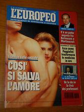 L'EUROPEO 1993/41=JACK UNTERWEGER=PUBBLICITA LAVAZZA=GIORGIO MORANDI=GRILLO BEPP