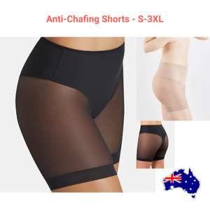 "S - 3XL ANTI-CHAFING UNDERPANTS / SHEER ""CHUB RUB"" SWEATSHORTS"