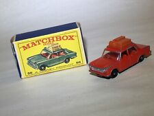 Lesney Matchbox 56 Fiat 1500 RED with box