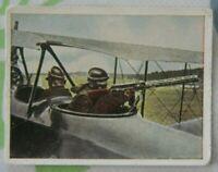 1wk Bild sammelbild zigarettenbild 1916 Flugzeug doppeldecker ST